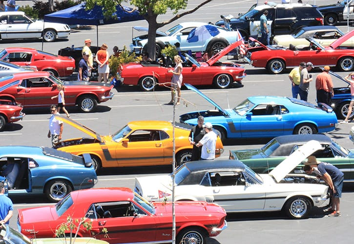 Vintage Mustang Owners Association VMOA - Mustang car shows